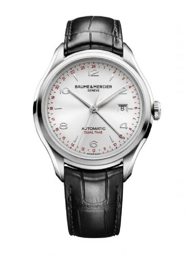 BAUME & MERCIER Clifton Dual Time Automatic Gents Watch 10112